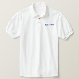 LiveJournal Logo Horizontal Embroidered Polo Shirt