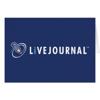 LiveJournal Logo Horizontal Greeting Card