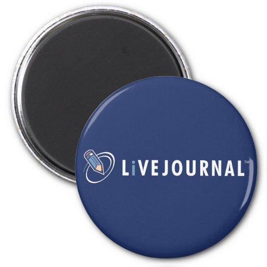 LiveJournal Logo Horizontal Magnet