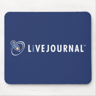 LiveJournal Logo Horizontal Mouse Pad