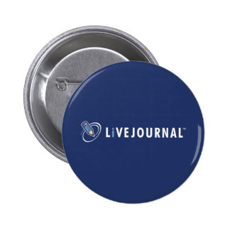 LiveJournal Logo Horizontal Pinback Button