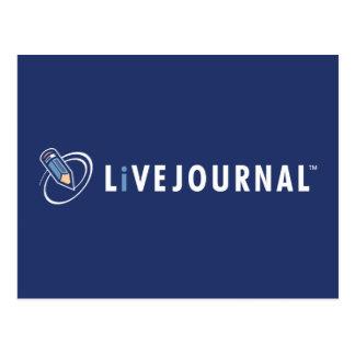 LiveJournal Logo Horizontal Postcard