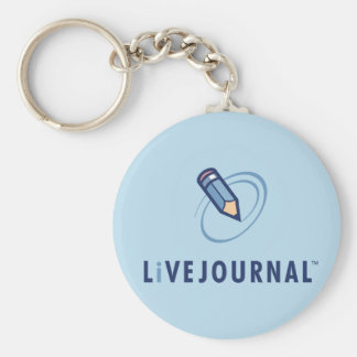 LiveJournal Logo Vertical Keychain
