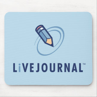 LiveJournal Logo Vertical Mouse Pad
