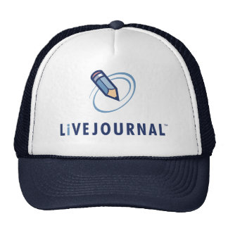 LiveJournal Logo Vertical Trucker Hat