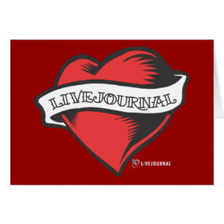 LiveJournal Tattoo Greeting Card
