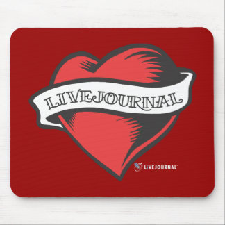 LiveJournal Tattoo Mouse Pad
