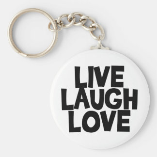 livelaughlove keychain