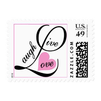 livelaughlove stamp