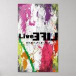 LiveLife Brand Poster