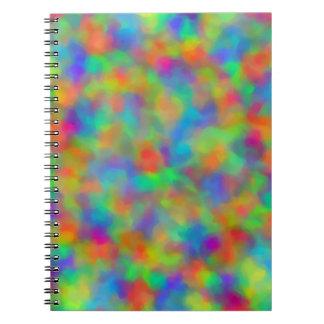 Lively Luminasity Spiral Notebook
