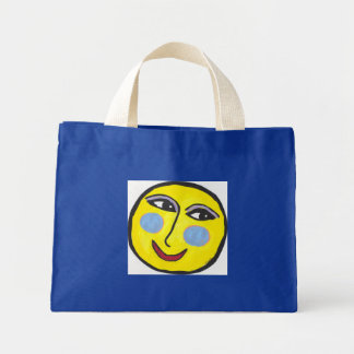 Lively Moon Tiny tote Tote Bag