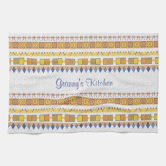 Lively Pattern Granny's Kitchen Towel