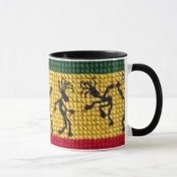 lively reggae dance mug