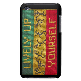 lively reggae dance phone iPod touch case