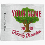 Lively Tree Personalized Family Reunion Binder