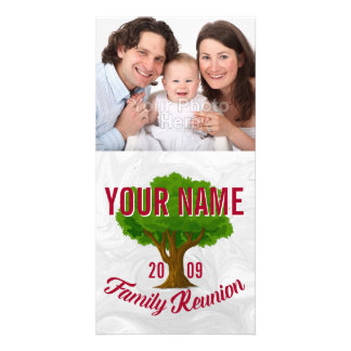 Lively Tree Personalized Family Reunion Card