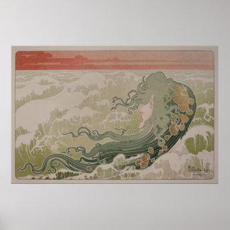 Livemont's La Vague (The Wave) Poster
