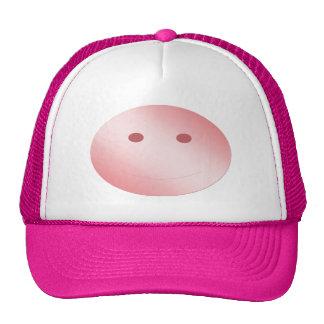 Livened up cap trucker hat