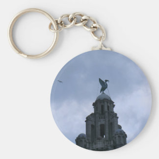 Liver Bird in Liverpool Key Chains