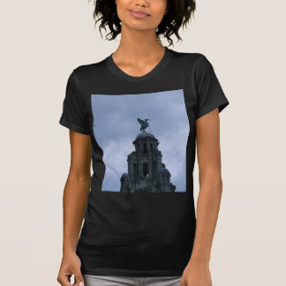 Liver Bird in Liverpool T Shirt