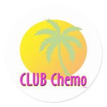 Liver/Bladder Cancer Classic Round Sticker