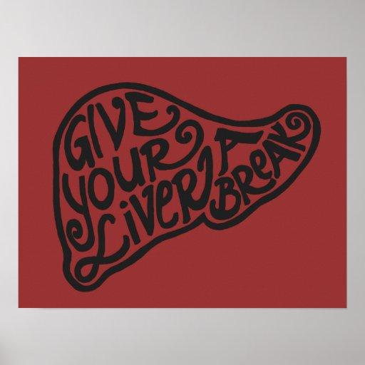 Liver Break 5 Poster or Print