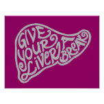 Liver Break 6 Poster or Print