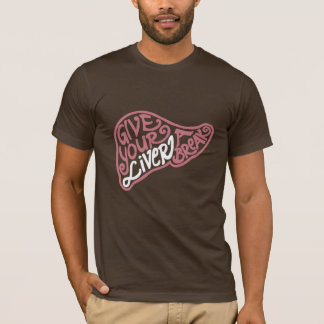 Liver Break Basic Dark American Apparel T-shirt