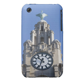 Liver Building, Cunard Building, Liverpool, iPhone 3 Case-Mate Cases