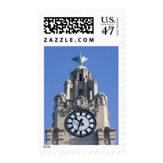 Liver Building, Cunard Building, Liverpool, Postage