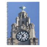 Liver Building, Cunard Building, Liverpool, Spiral Notebook