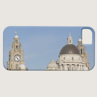 Liver Building, Liverpool, England iPhone SE/5/5s Case