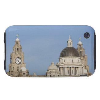 Liver Building, Liverpool, England Tough iPhone 3 Cover