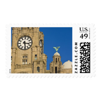Liver Building, Liverpool, Merseyside, England Postage