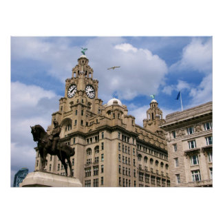 Liver Building - Liverpool Poster
