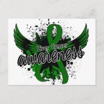 Liver Cancer Awareness 16 Postcard