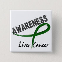 Liver Cancer Awareness 3 Pinback Button