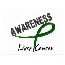 Liver Cancer Awareness 3 Postcard