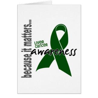 Liver Cancer Awareness Card