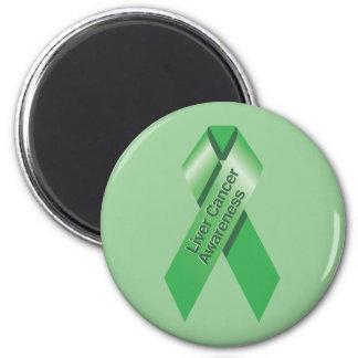 Liver Cancer Awareness Magnet