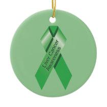 Liver Cancer Awareness Ornament
