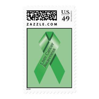 Liver Cancer Awareness Postage