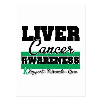 Liver Cancer Awareness Postcard