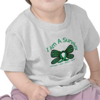 Liver Cancer Butterfly I Am A Survivor Shirt