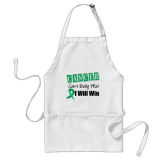 Liver Cancer Cant Bully Me I Will Win Apron