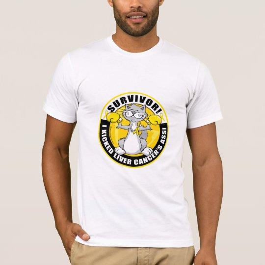 Liver Cancer Cat Survivor T-Shirt