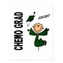 Liver Cancer CHEMO GRAD 1 Postcard