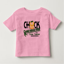 Liver Cancer Chick Gone Emerald Green 2 Toddler T-shirt