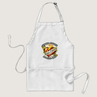 Liver Cancer Classic Heart Adult Apron